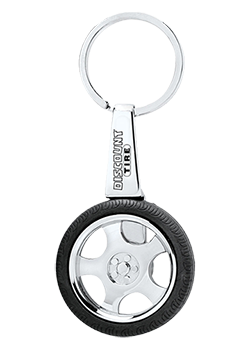 Discount Tire Spinning Keychain Thumbnail