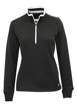 Nike Ladies Dri-Fit 1/2 Zip Cover-up Thumbnail