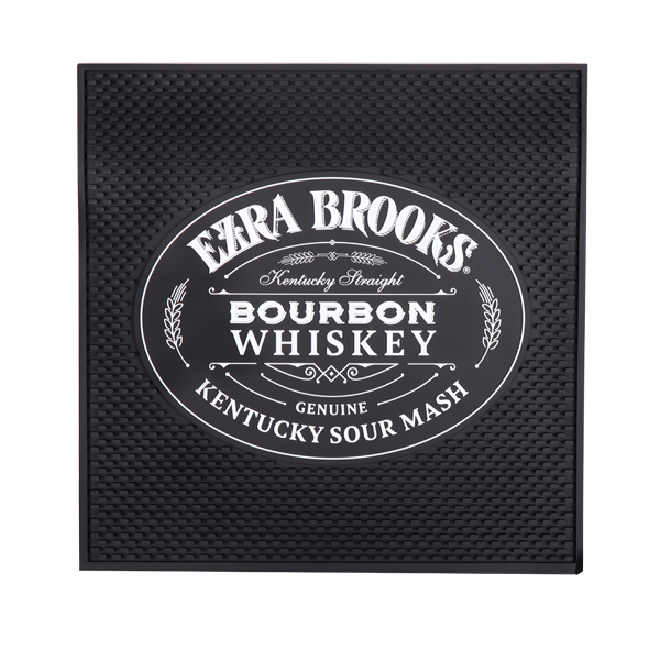 Ezra Brooks Bar Mat