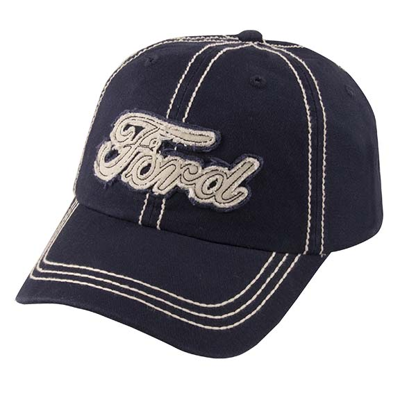 Navy Ford Applique Hat